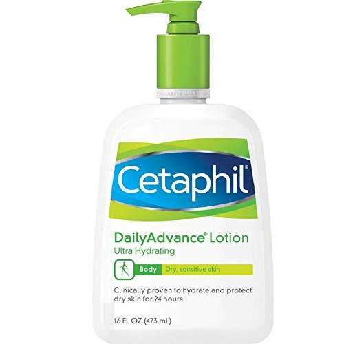 - Cetaphil DailyAdvance Ultra Hydrating Lotion for Dry/Sensitive Skin 16 oz (Pack of 6)
