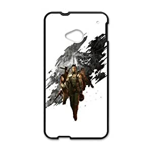 HTC One M7 Cell Phone Case Black Front Mission SLI_515058