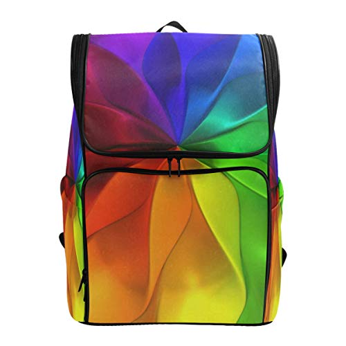 Travel Backpack Colorful AbstractCollege Backpack for Women Big Hunting -
