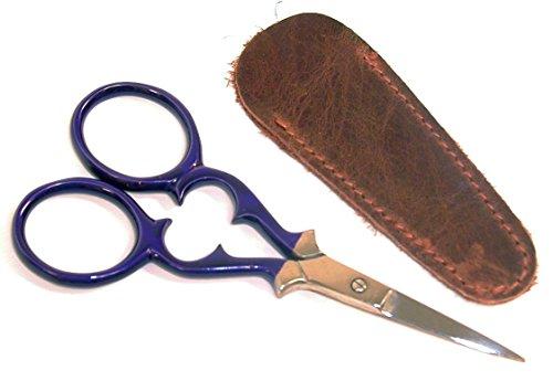 (Victorian Embroidery Scissors 96mm- Purple)