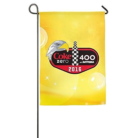 JFD Coke Zero 400 2016 NASCAR Garden Flag 12*18inch (Garden Flag Tony Stewart)