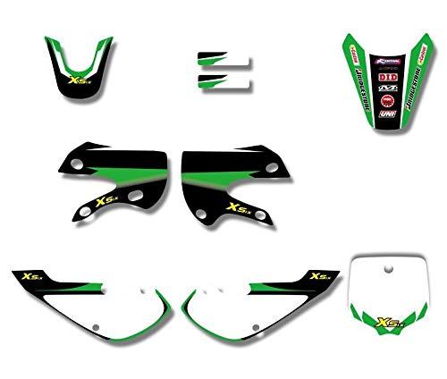 Decals & Stickers | Graphics & Background Decal Sticker Kits for Kawasaki KLX110 KLX 110 KX65 KX 65 Suzuki DRZ110 DRZ 110 Pit Dirt Bike | by NAHASU