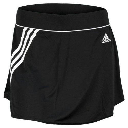 ADIDAS W TE 3S SKORT (BLACK/WHITE) - M by adidas