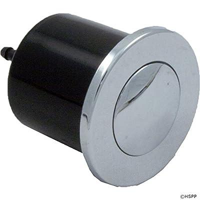 PresAirTrol Spa Microbore Air Button Chrome 6434-OC