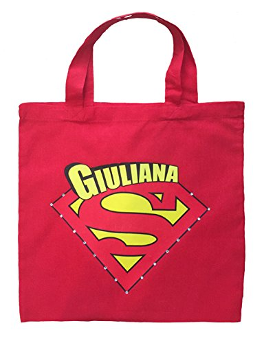 [Supergirl Trick or Trick Bag - Personalized Supergirl Halloween Bag] (Trick Or Treat Costumes Images)