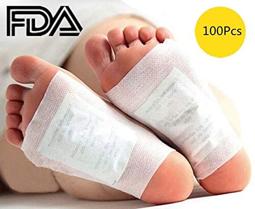 (Foot Pads - 100 Adhesive Sheets and 100 Foot Pads)