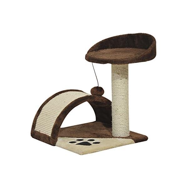 Rascador-Gato-Altura-40cm-Arbol-Poste-para-Araar-36x36x40cm-Juegos-Gatos