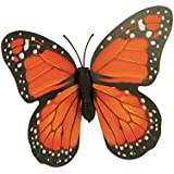 "Grasslands Road Fluttering Stake, 16"" - Butterfly (Orange)"