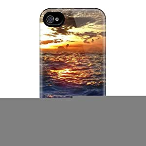 High Quality Rough Sea At Sunset Cases For Iphone 6 / Perfect Cases