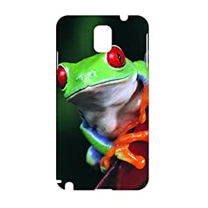 3D Case Cover Cuwte Colorful Frog Phone Case for Samsung Galaxy Note3