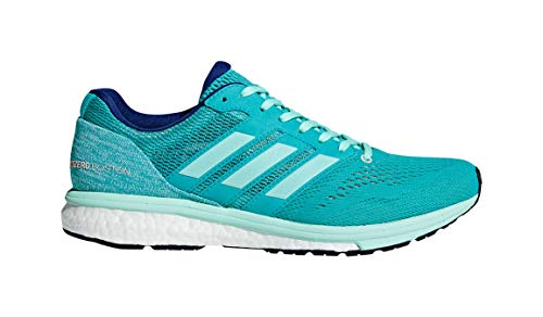 adidas Women's Adizero Boston 7 Running Shoe hi-res Aqua/Clear Mint/Mystery Ink 10 M US