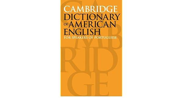 cambridge dictionary english portuguese