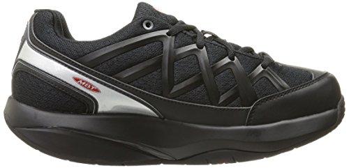 Damen 3 Bianco MBT Sport Schwarz Sneakers Nero UqFCxwvdH