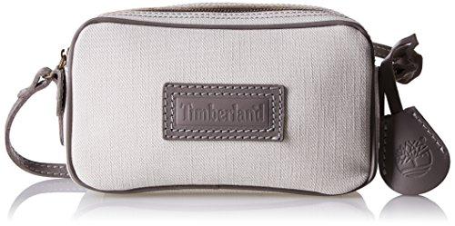 Timberland TB0M5407, Bolso Bandolera Para Mujer Gris (PALOMA)