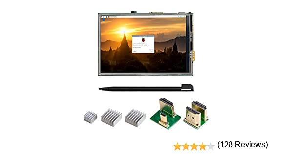 UCTRONICS 3.5 Pulgadas HDMI TFT LCD Display Kit para Raspberry Pi ...