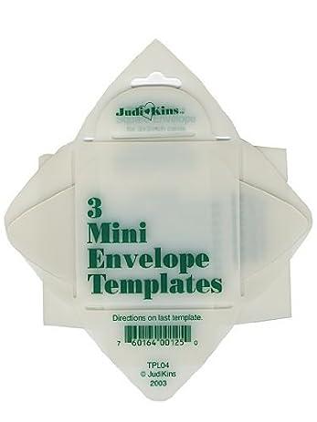 Amazon.com: JudiKins Envelope Templates mini envelope template set
