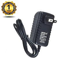 ABLEGRID AC / DC Adapter For Sharp EL-1750V EL-1750P EL-1750PII EL-1750PIII 2 Color Print 12 Digit Calculator Power Supply Cord Cable PS Wall Home Charger Mains PSU