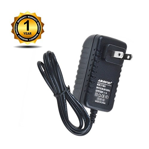 ABLEGRID AC/DC Adapter for Zoom Bass Effects : B1, B1X, B1on, B1Xon, B2, B2.1u, B3 Power Supply Cord Wall Home Charger PSU