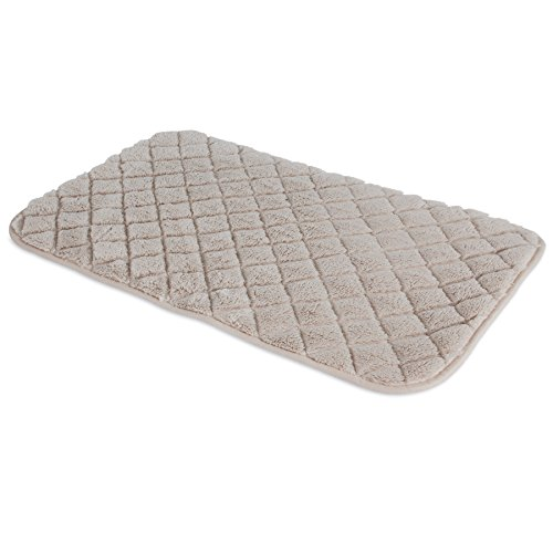 SNOOZZY CREAM 29X18  QUILTED MAT