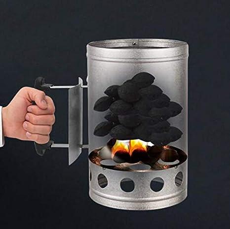 Amazon.com: Barbacoa herramientas de punto rápido de carbón ...
