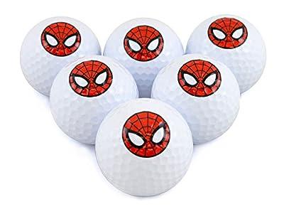 Marvel Spider-Man Golf Balls