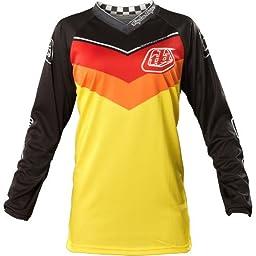 Troy Lee Designs GP Airway Women\'s MotoX Motorcycle Jersey - Yellow / Large