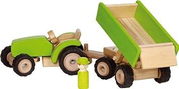 Farm Trecker aus Holz für Bauernhof Woodfriends Traktor