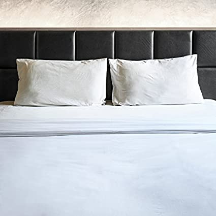 1800 THREAD COUNT EGYPTIAN COTTON FEEL 4 PIECE BED SHEET SET 12 COLORS  (Queen,