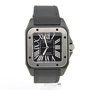 Cartier Santos 100 automatic-self-wind mens Watch 2656 (Certified Pre-owned)