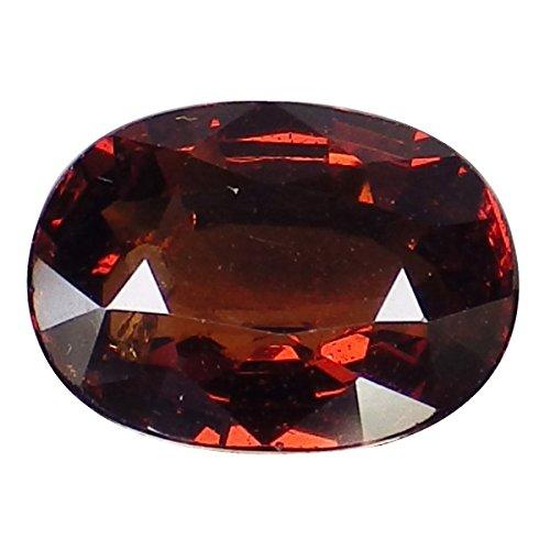 1.35 Ct. Natural Oval Orange Spessartine Garnet Loose Gemstone