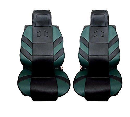 2x Gr/üne Vordere Sitzauflegen Auto Sitzauflagen Neu Autoschutz Hochwertig Auflage OVP