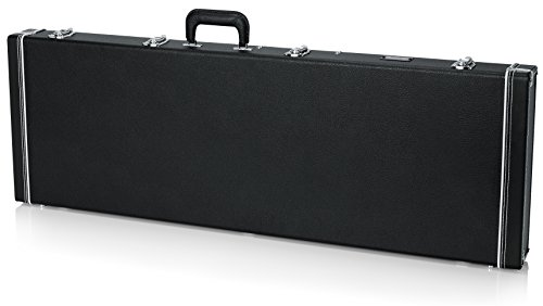 Gator Cases Deluxe Wood Case for Bass Guitars (GW-BASS)