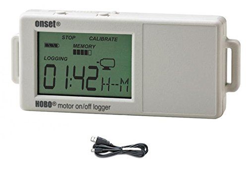 Onset HOBO UX90-004 Motor Usage On/Off Data Logger w/ USB Cable