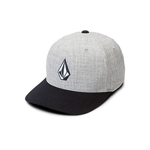 Volcom Volcom Full Stone - Volcom Men's Full Stone Heather Xfit Hat, Navy, Small/Medium