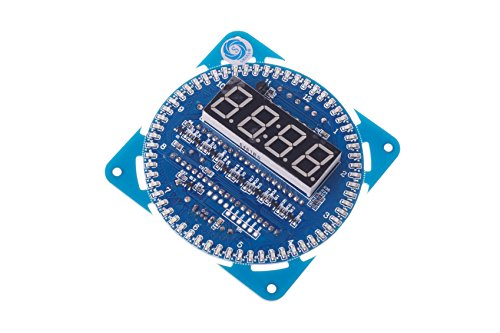 - SMAKN® DIY Ds1302 Rotation LED Electronic Clock Kit 51 SCM Learning Board