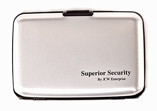 """CHECK OUT THE PROMOTION ON The Original """"Superior Security"""" RFID Blocking aluminum wallet protection for all your bank, credit, ID, ATM cards"""