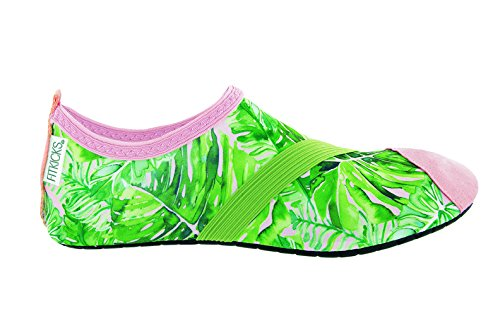 (FitKicks Active Footwear for Women, Special Edition - Coco Palm -)