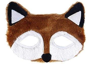 Hombre Mujer Niños Fantástico ZORRO ANIMAL Semana Del Día mundial del Libro Disfraz Máscara