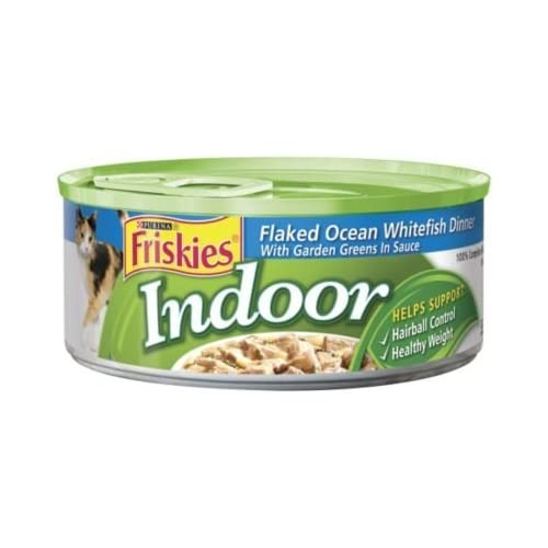 60%OFF Nestle Purina Petcare 50215 Friskies Select Indoor Ocean Whitefish 24/5.5 oz Pack