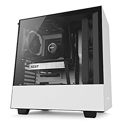 NZXT H200 - Mini-ITX PC Gaming Case - Tempered Glass Panel
