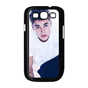 Samsung Galaxy S3 9300 Cell Phone Case Black Justin Bieber Personalized Plastic Cell Phone Case HQW