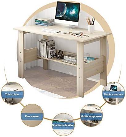 winwintom Writing Computer Desk 39.4″ Modern Simple Study Desk Industrial Style Laptop Table