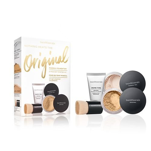 Bare Minerals Nothing Beats The Original Get Started Set Light 08 4pc Set (Bareminerals Kit)