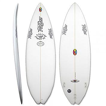 Tabla de Surf McCoy – lazor Zap 5.10 XF + una vez de aplicación mawaii Suncare