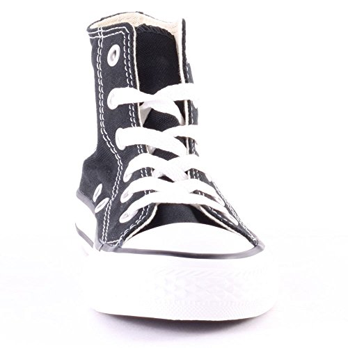 Converse All Star Hi Kids Canvas Trainers Black White - 30 EU