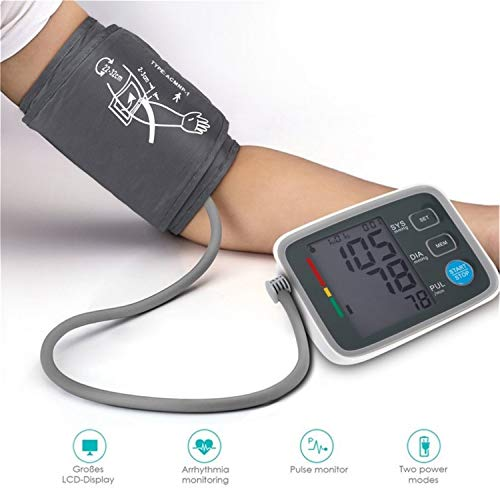 BABIFIS Fully Automatic Digital Upper Arm Monitor Clinically Validated Sphygmomanometer Massager 2019