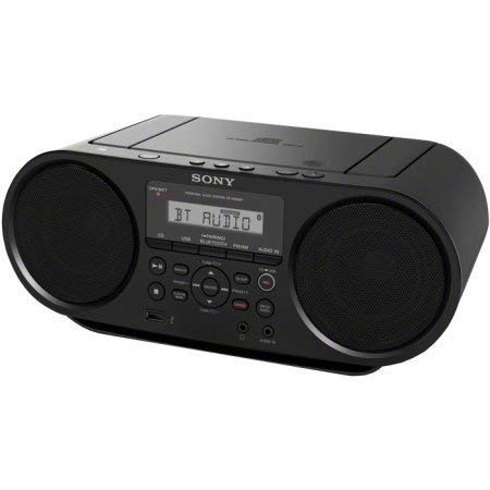 Sony Portable Bluetooth Digital Turner AM/FM CD Player Mega Bass Reflex Stereo Sound System (Best Boombox Cd Player)