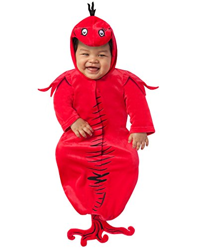 Spirit Halloween Baby Red Fish Bunting - Dr. -