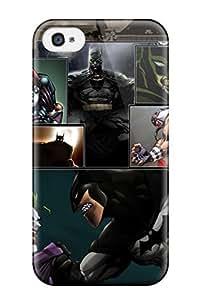 Hot Cute Tpu Batman Case Cover For Iphone 4/4s Kimberly Kurzendoerfer