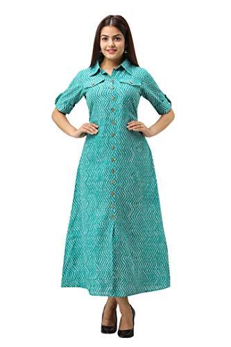 SVARCHI Women's Cotton Regular Kurta